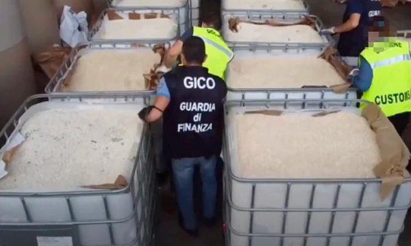 Italia konfiskon 14 tonë amfetaminë që kushton 1 miliard euro, dyshohet se e prodhoi ISIS-i