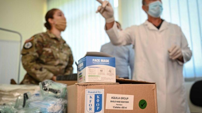 KFOR ndihmon ambulancat në gjithë Kosovën me pajisje kundër koronavirusit