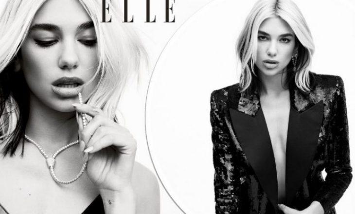 """Dua shfaqet atraktive në kopërtinën e """"Elle"""", flet për periudhën e izolimit me Anwar Hadid"""