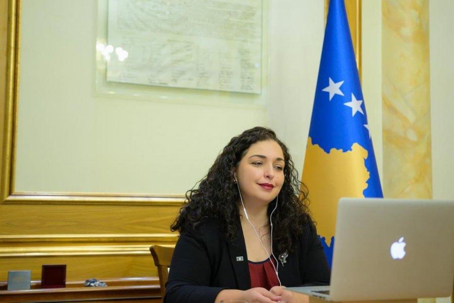Presidentja Osmani bisedë telefonike me presidentin Gjukanoviq, e fton atë ta vizitojë Kosovën