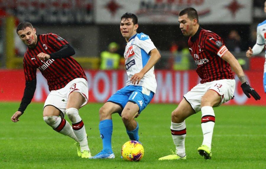 Milani nuk arrin ta mposhtë Napolin, barazon me rezultat 2 me 2