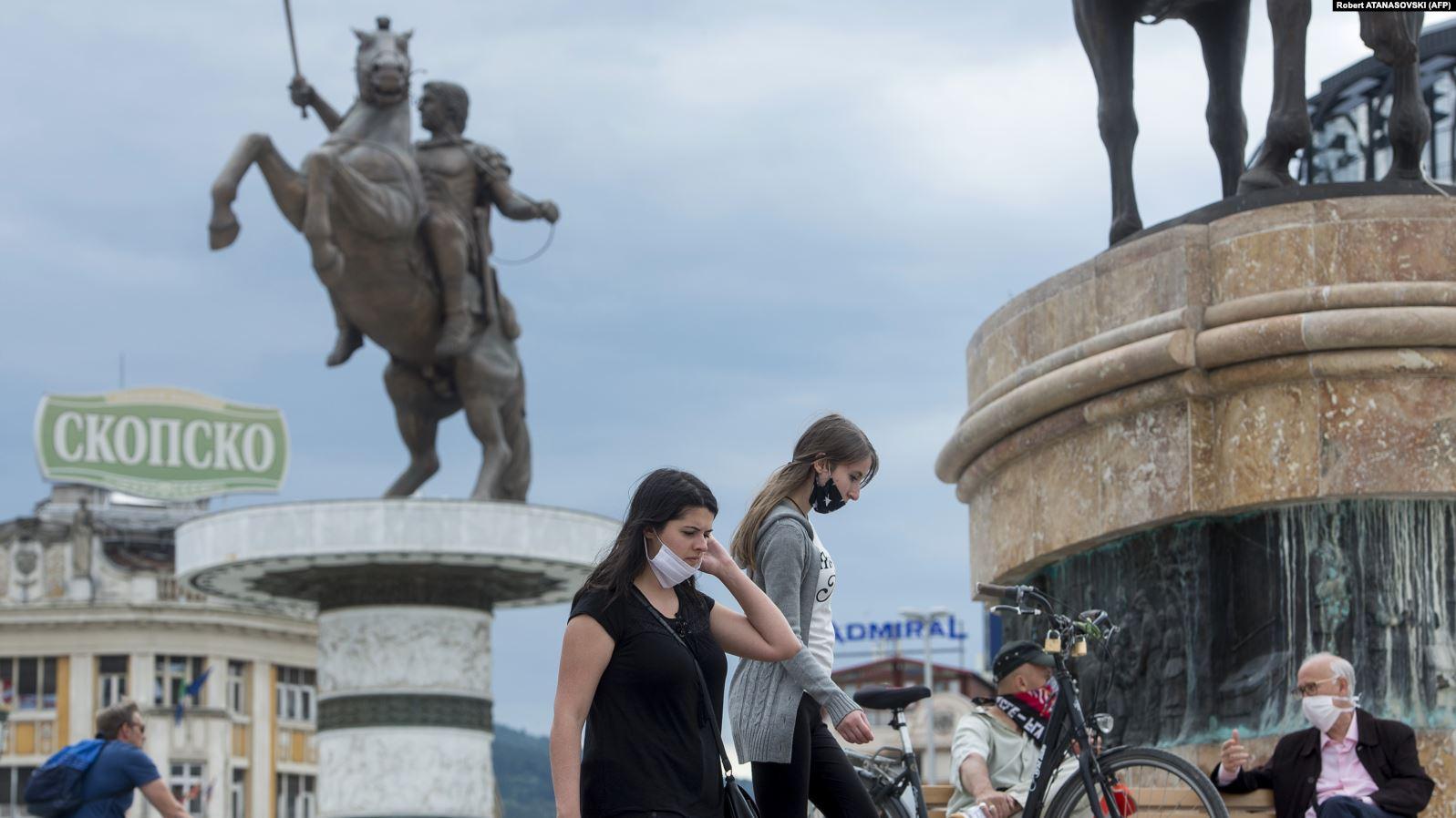 Maqedonia e V. regjistron ulje të numrit të rasteve me koronavirus