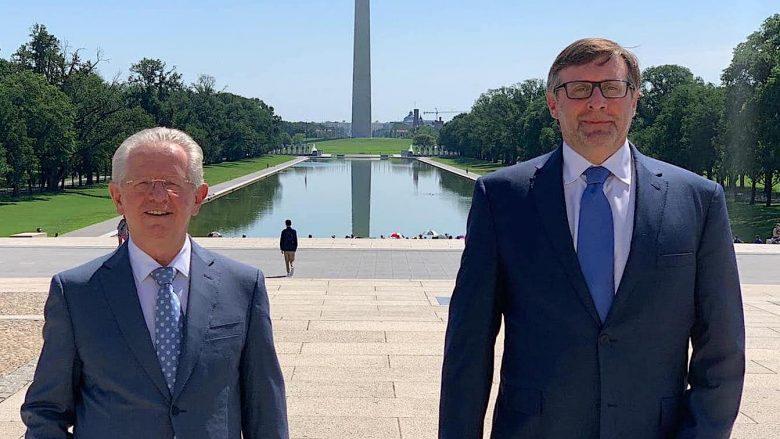 Hyseni takohet me Palmerin, por jo edhe me Sekretarin e Shtetit