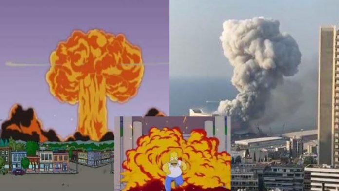 Simpsonët e parashikuan shpërthimin në Beirut?
