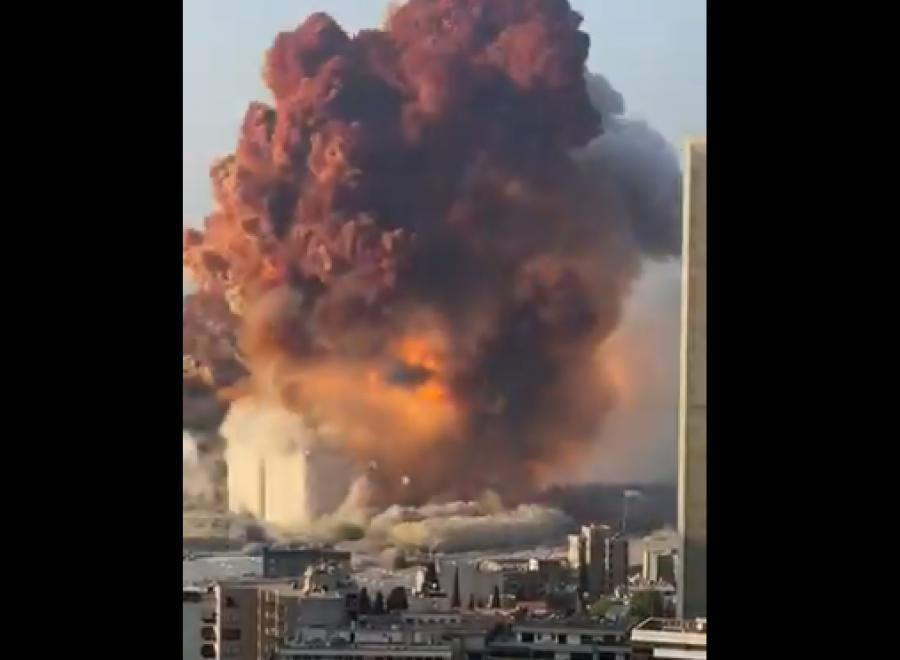Shpërthime të mëdha shkundin Bejrutin
