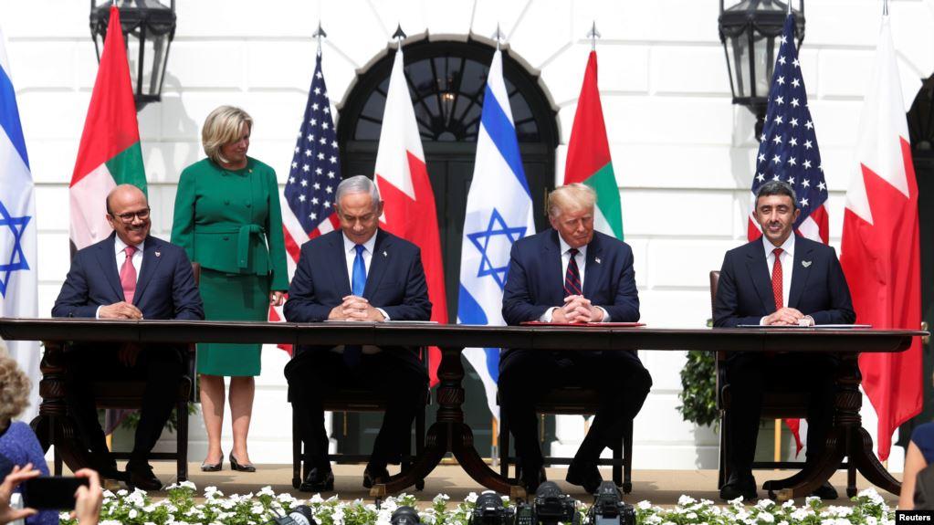 """Trump përshëndet """"agimin e një Lindjeje të re të Mesme"""""""