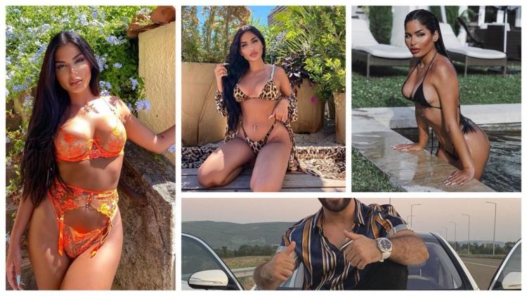 Thuhet se kjo modele seksi është e dashura e reperit të njohur shqiptar