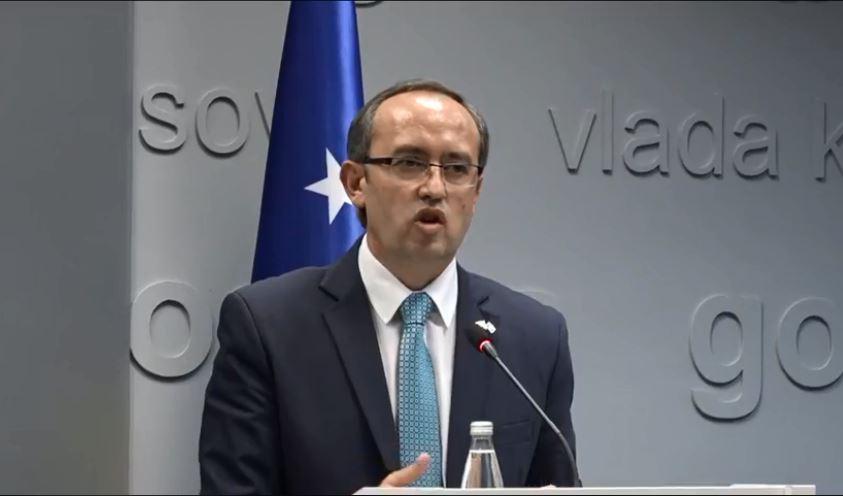Hoti: Me marrëveshjen e sotme Kosova kthehet në qendër të aktivitetit ekonomik në Ballkan