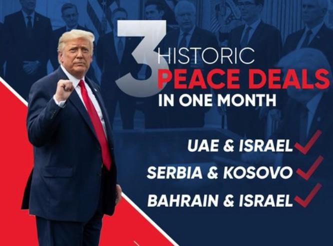 Djali i Trumpit reklamë babait për marrëveshjet e paqes, e dyta në listë Kosovë – Serbi