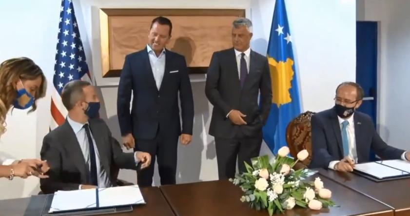 Nënshkruhet marrëveshja ekonomike Kosovë-SHBA