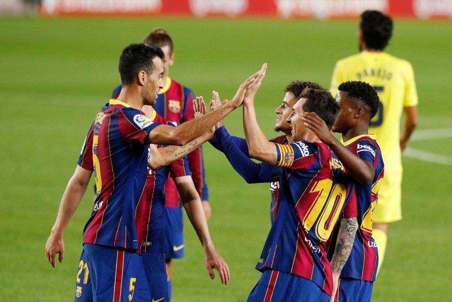 Fitore bindëse e Barcelonës ndaj Villarrealit