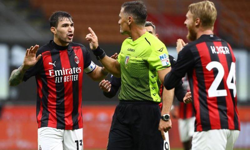Pezullohet gjyqtari i ndeshjes Milan – Roma