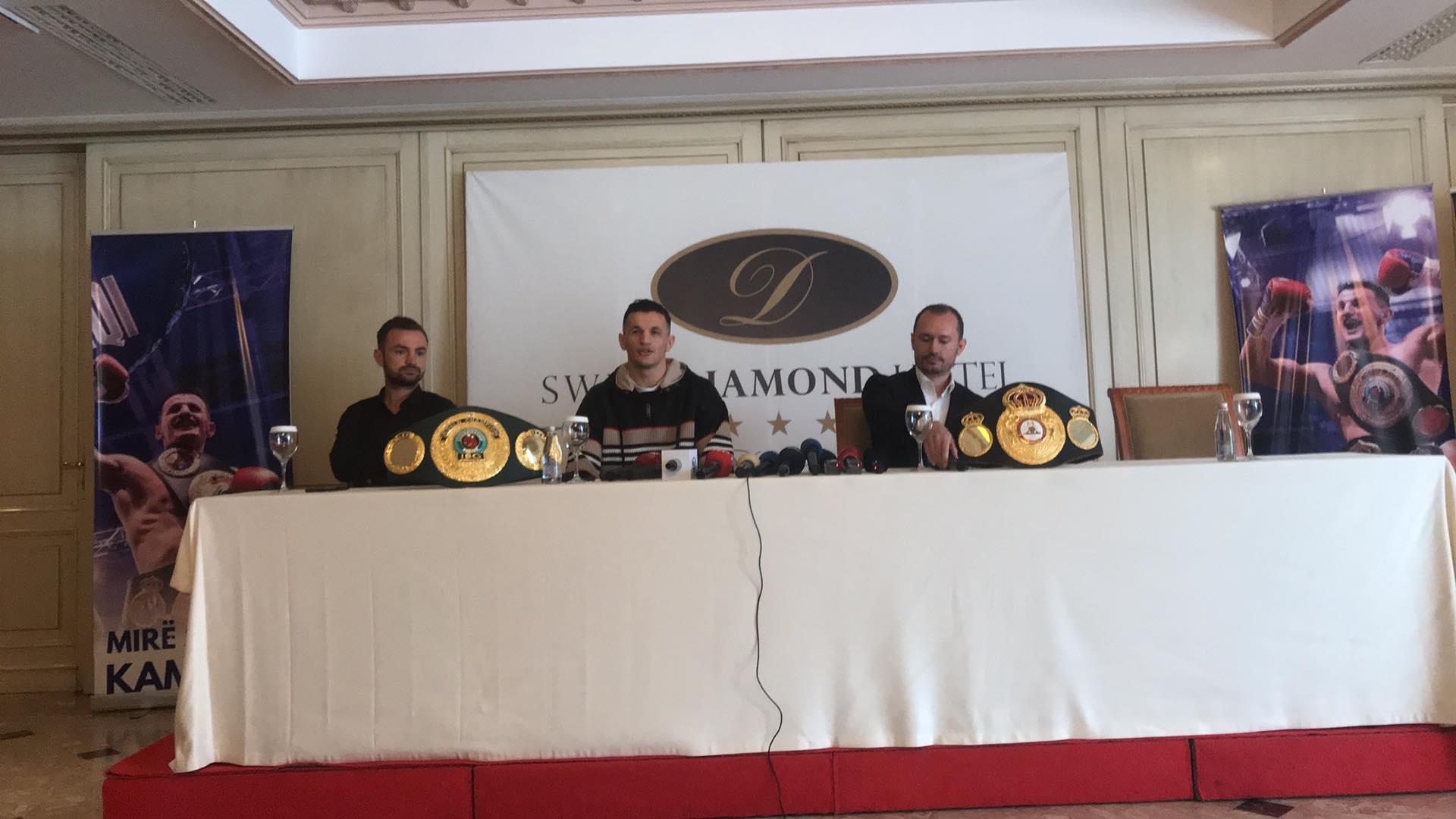 Robin Krasniqi: Shpresoj të boksoj në stadiumin 'Fadil Vokrri', sot shkoj në Prekaz, ku ndihem i vogël