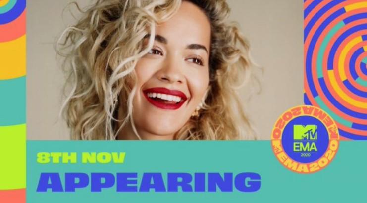Rita Ora sivjet drejton MTV EMA 2020