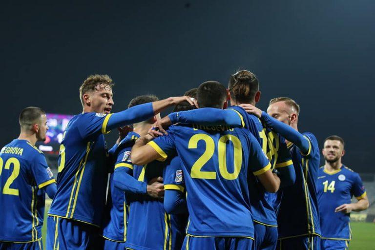 Kosova fiton minimalisht ndaj Moldavisë për t'i dhënë fund serisë me rezultate negative