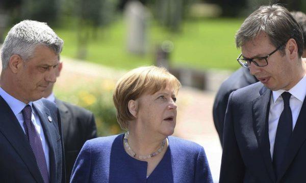 DW: Qeveria gjermane thotë se idenë për shkëmbim të territoreve e dhanë Thaçi dhe Vuçiqi