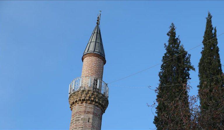 Vidhet arka e xhamisë në një fshat të Kamenicës