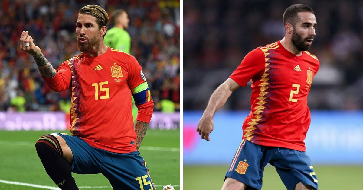 """Lajm i mirë për """"Dardanët"""", Ramos dhe Carvajal mungojnë në sfidën ndaj Kosovës"""