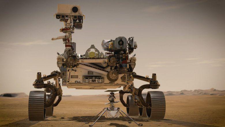 Kjo video virale nga Marsi është e rreme