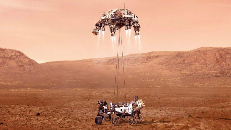 Inxhinierët e NASA-s, të ngazëllyer nga videoja e zbarkimit të sondës në Mars