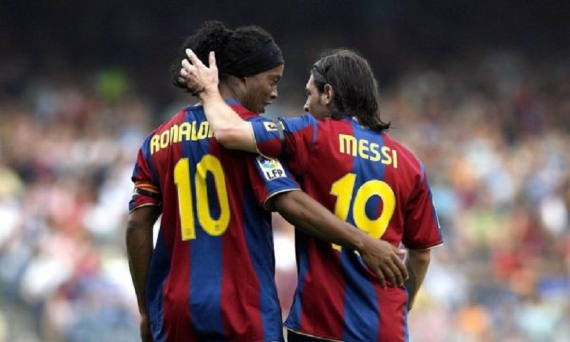 Mesazhi prekës që Messi ia dërgoi Ronaldinhos për vdekjen e nënës