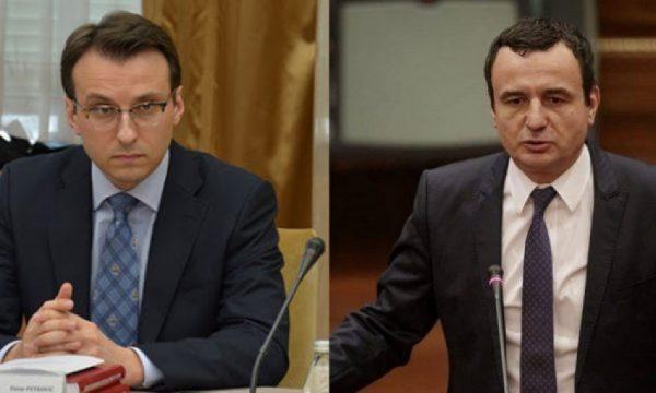 Petkoviq kapet me Kurtin, i cili tha se djali i Rashiqit u rrah për motive politike