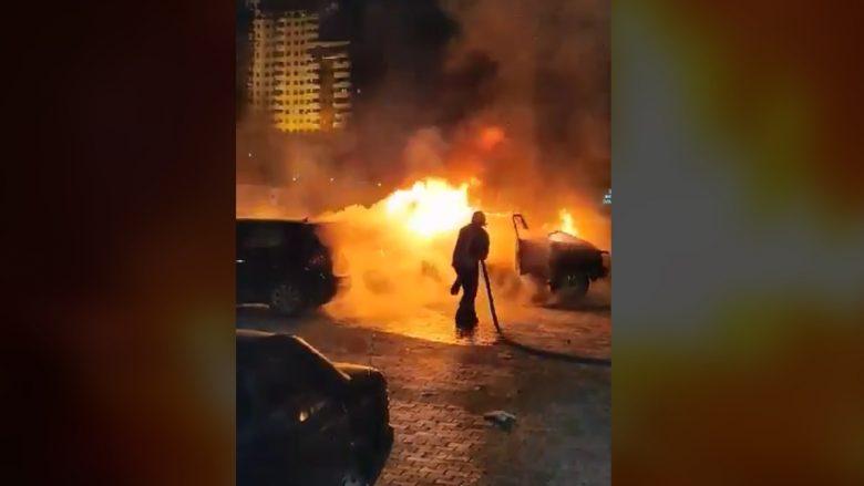 Deputeti Bajqinovci tregon si ndodhi djegia e veturës derisa ishte brenda në të