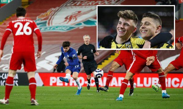 Talenti i Chelseat i komenton Rashicës, pasi ky i fundit i reagoi për supergolin ndaj Liverpoolit