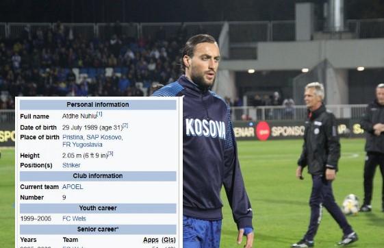 """Dikush po tallet me profilin e Atdhe Nuhiut, """"ka shënuar mbi 700 gola dhe ka luajtur për Barcelonën e Bayernin"""""""