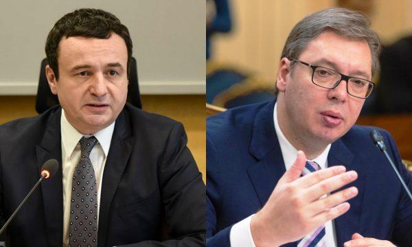 Vuçiq i dërgon mesazh Kurtit para takimit të Brukselit