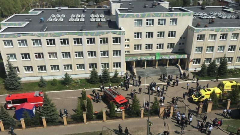 Të shtëna me armë në një shkollë ruse: 7 fëmijë dhe 2 punonjës humbin jetën