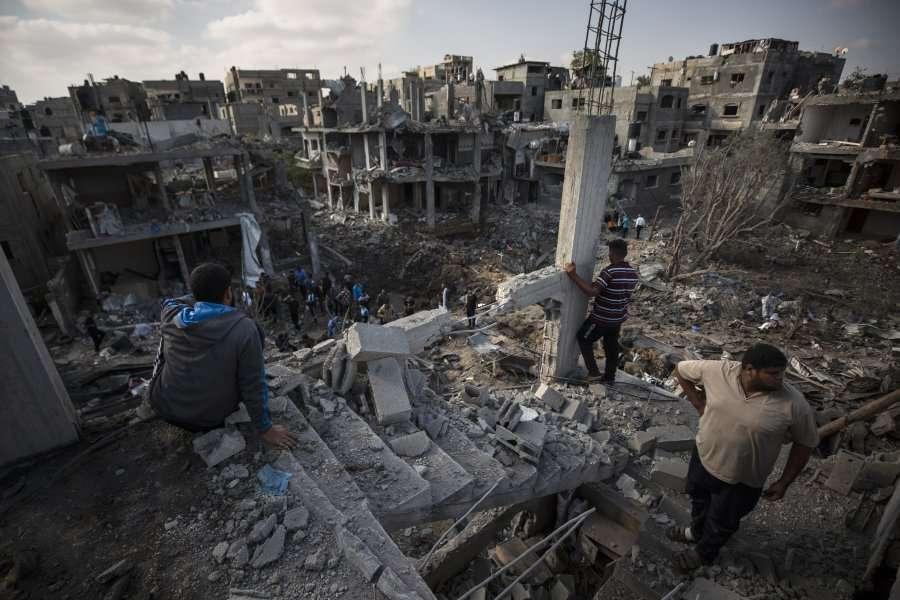 """""""O Zot, më duhet të largohem"""" – gazetarja që po raportonte live nga Gaza përjeton tmerrin"""