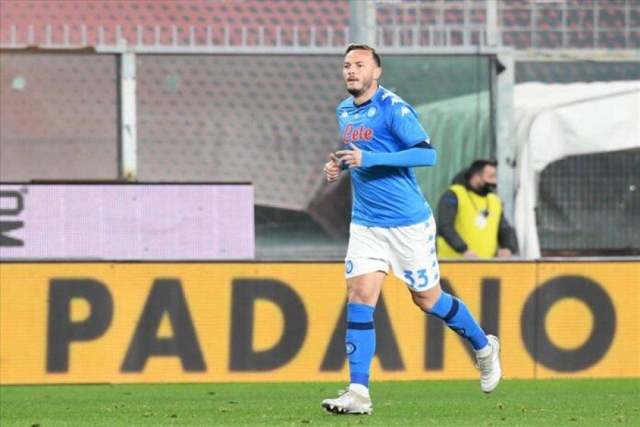 Amir Rrahmani nga minuta e parë ndaj Udineses