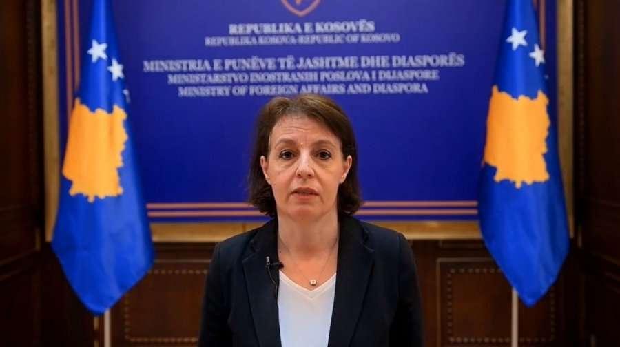Kryediplomatja Gërvalla e uron Izraelin për kryeministrin e ri