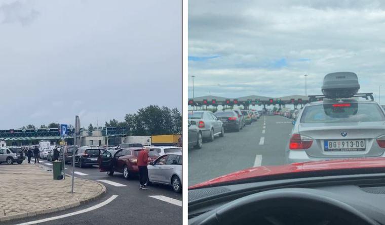 Mërgimtarët po presin deri në 8 orë në pikat kufitare Serbi – Hungari dhe Serbi – Kroaci