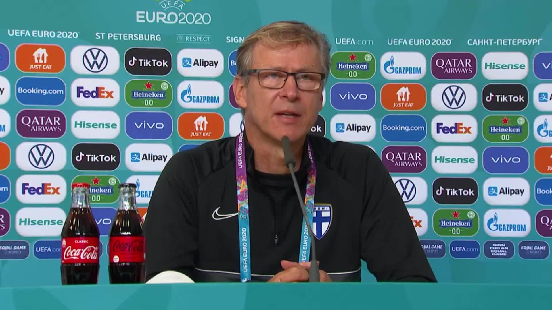 Selektori i Finlandës, Kanerva: U mbrojtëm mirë, patëm paraqitje më të mirë sesa me Danimarkën