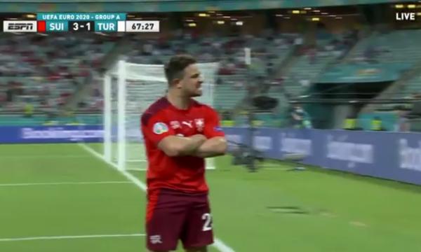 Shaqiri me një tjetër gol të jashtëzakonshëm: Zvicra 3:1 Turqia