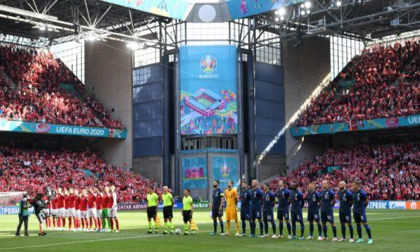 UEFA njofton se kur do të vazhdojë ndeshja Danimarkë-Finlandë