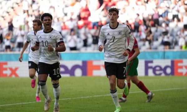 Gjermanët mposhtin Portugalinë