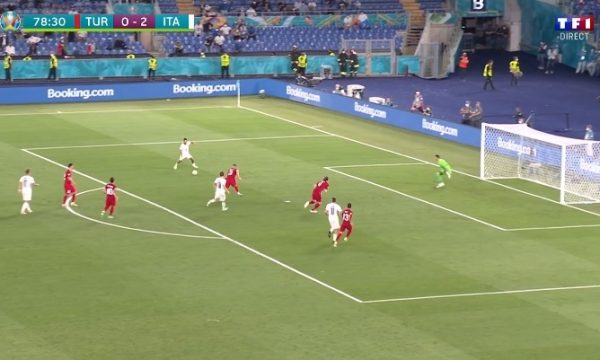 Turqia pëson golin e tretë, shënon Insigne