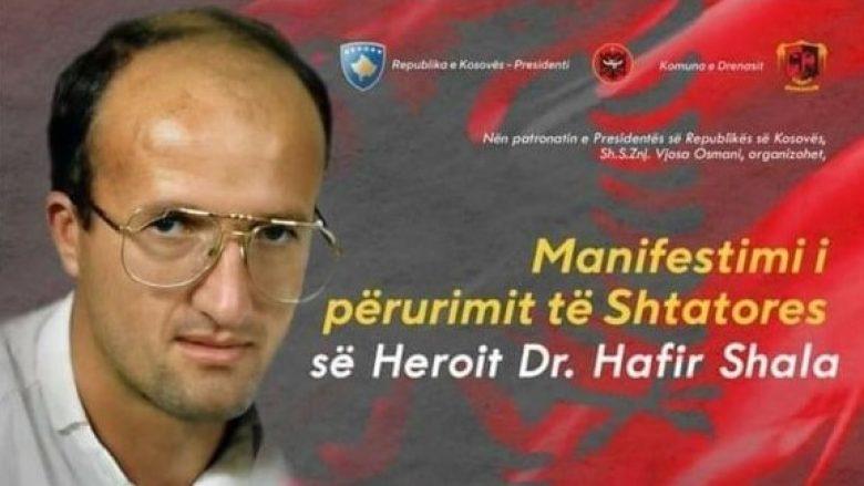 Mjeku i UÇK-së, Hafir Shala bëhet me shtatore