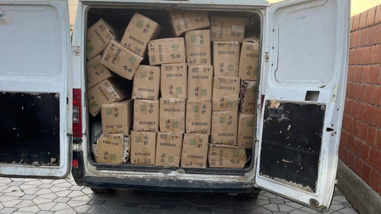 Kapen mbi 3 ton me fishekzjarrë të kontrabanduara në veri të Mitrovicës