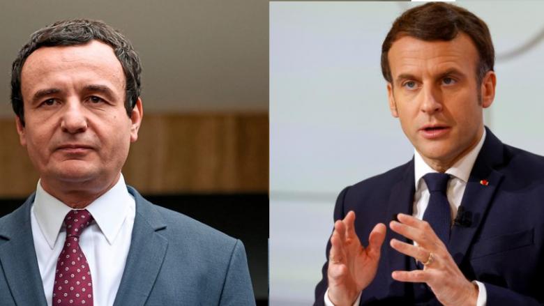 Kurti javën e ardhshme takohet me presidentin e Francës