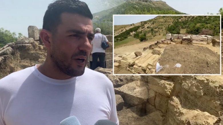 Zbulohet një varr antik në Amantia të Vlorës