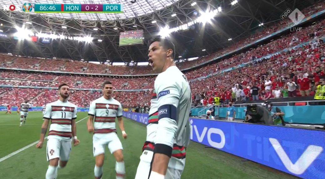 Portugalia mposht Hungarinë 3 me 0, dy gola nga Ronaldo