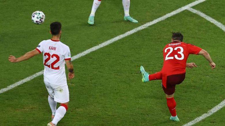 Zvicra shkon në pushim të pjesës së parë me dy gola epërsi ndaj Turqisë
