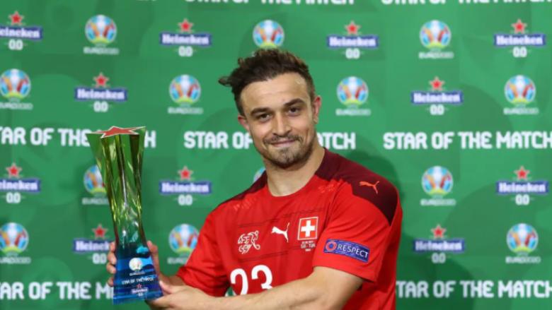 Shaqiri: Jam i lumtur që ndihmova skuadrën me dy gola, i zhgënjyer me golin e pësuar