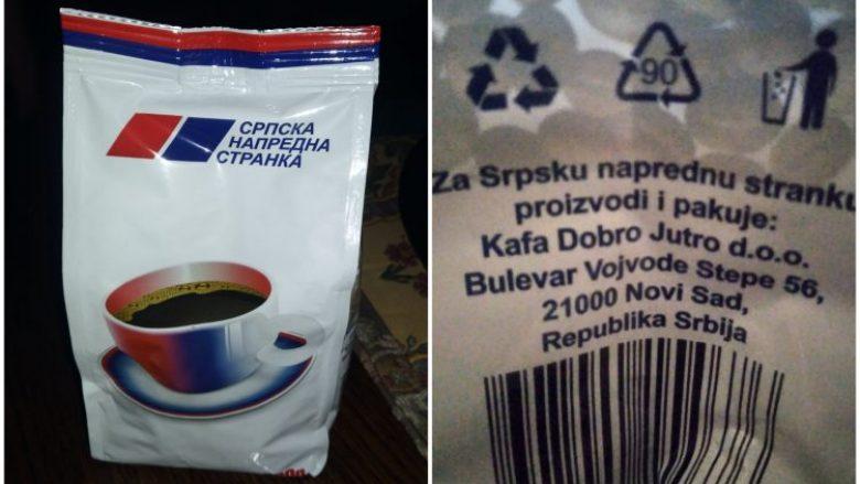 """Partia e Vuçiqit """"blen"""" vota për 100 gramë kafe turke"""
