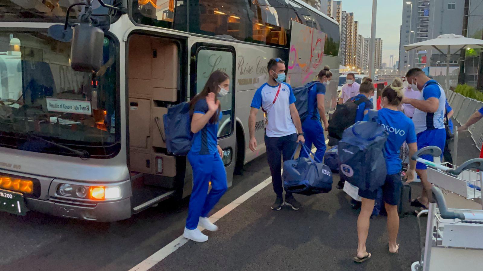Xhudistët kosovarë arrijnë në Sanjo të Japonisë para Lojërave Olimpike
