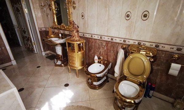 Drejtorit të policisë ia gjejnë tualetin me ari në banesë